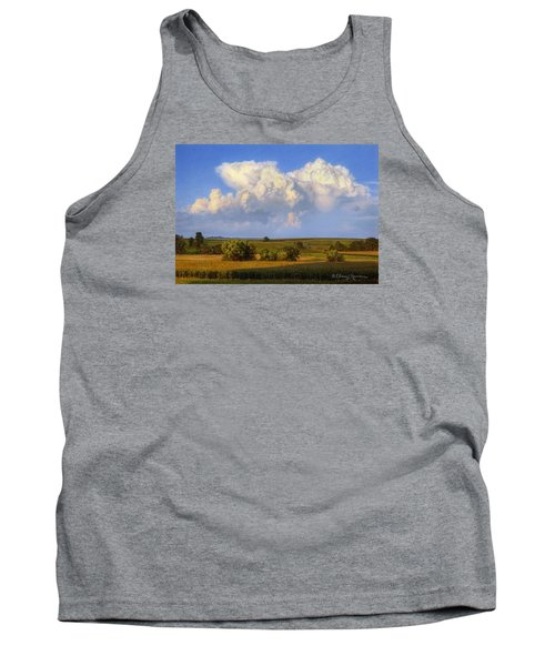Summer Evening Formations Tank Top by Bruce Morrison