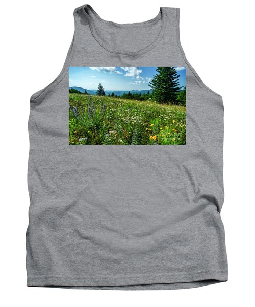 Summer Flowers In The Highlands Tank Top