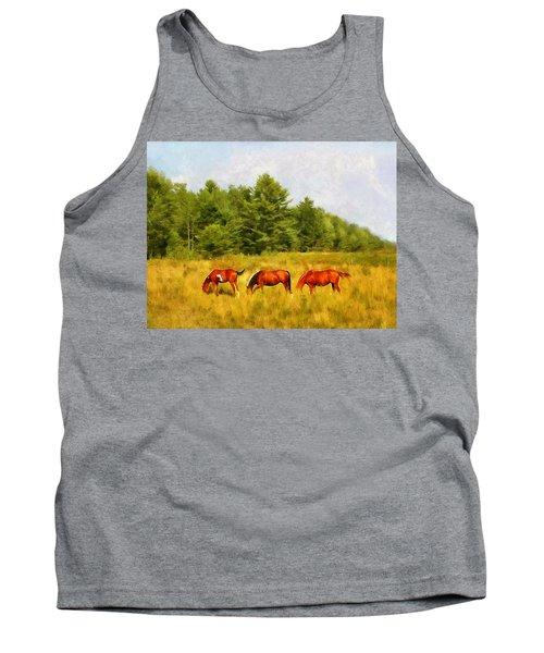 Summer Hay Burners Tank Top