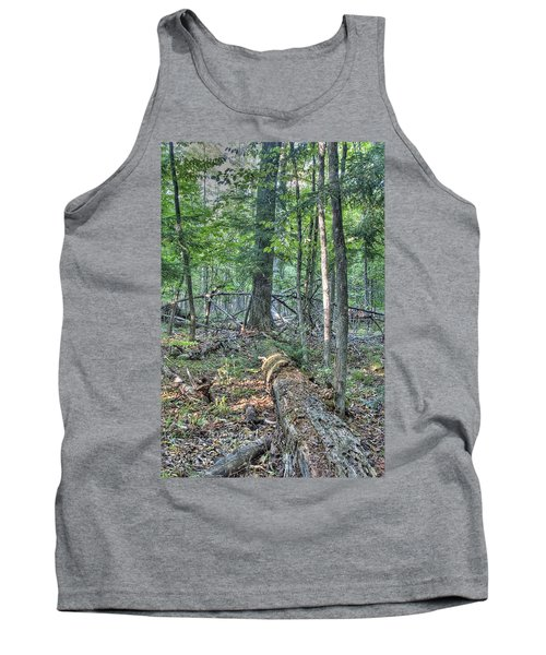 Summer In A Canadian Forest Tank Top