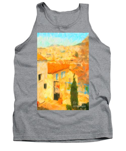 Summer In Athens Tank Top