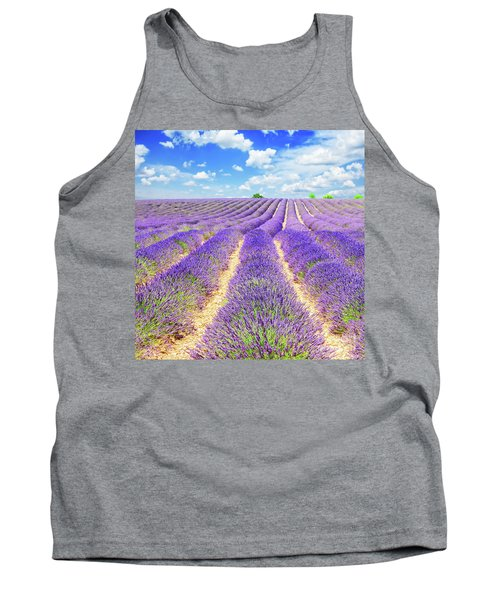 Summer In Provence Tank Top by Anastasy Yarmolovich