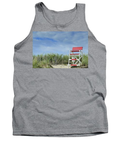 Summer In Red White And Blue Tank Top