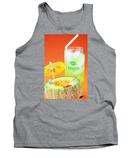 Tank Top featuring the photograph Summer Memory Little People On Food by Paul Ge