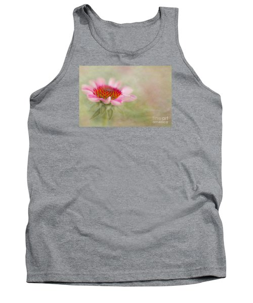Summer Pink Echinacea Tank Top