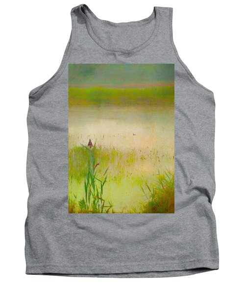 Summer Reeds Tank Top by Catherine Alfidi