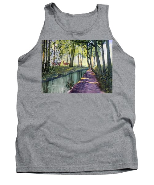 Summer Shade In Lowthorpe Wood Tank Top