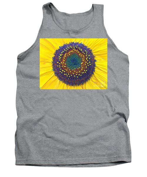 Summer Sunflower Tank Top by Todd Breitling