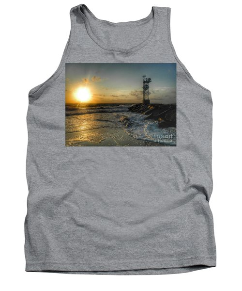 Summer Sunrise At Ocmd Inlet Tank Top