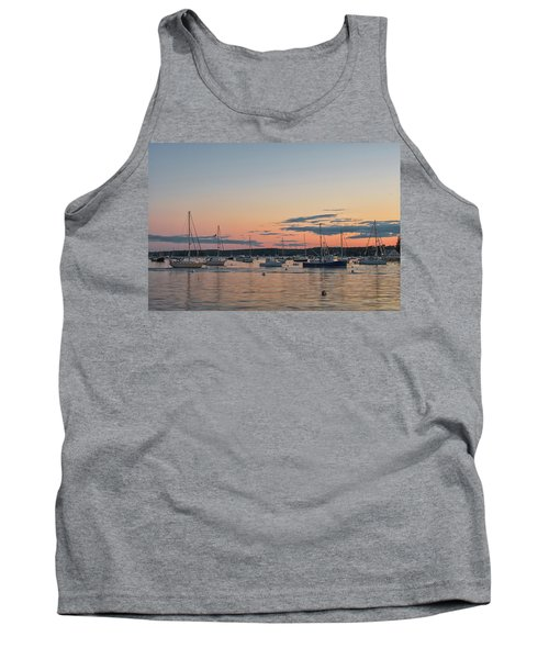 Summer Sunset In Boothbay Harbor Tank Top