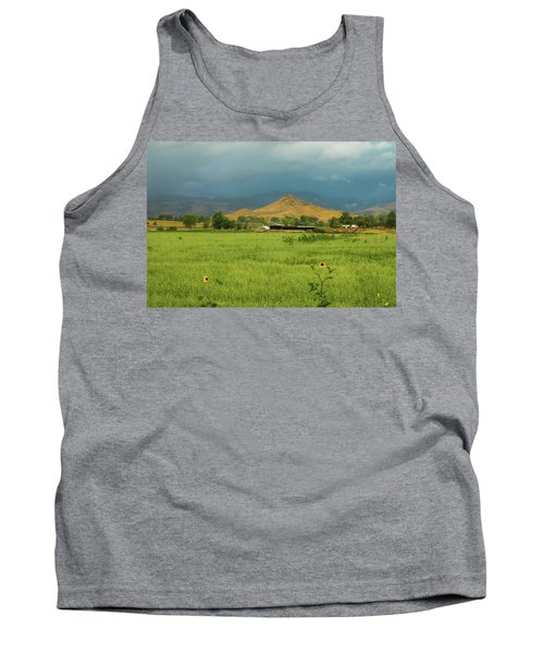 Tank Top featuring the photograph Summer View Of  Hay Stack Mountain by James BO Insogna