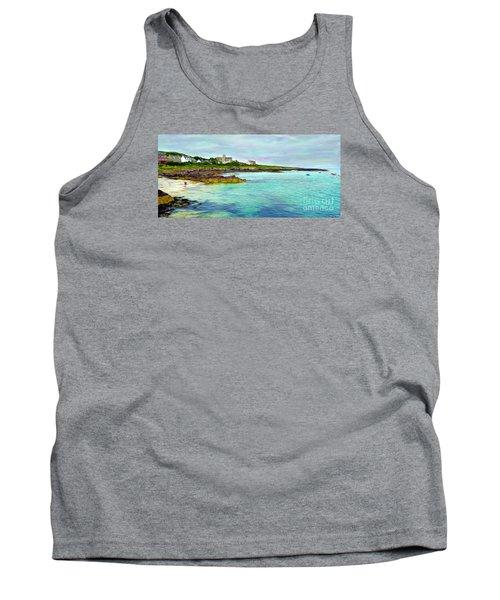 Summertime, Isle Of Iona Tank Top by Judi Bagwell