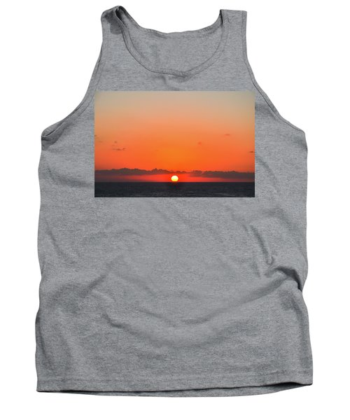 Sun Balancing On The Horizon Tank Top