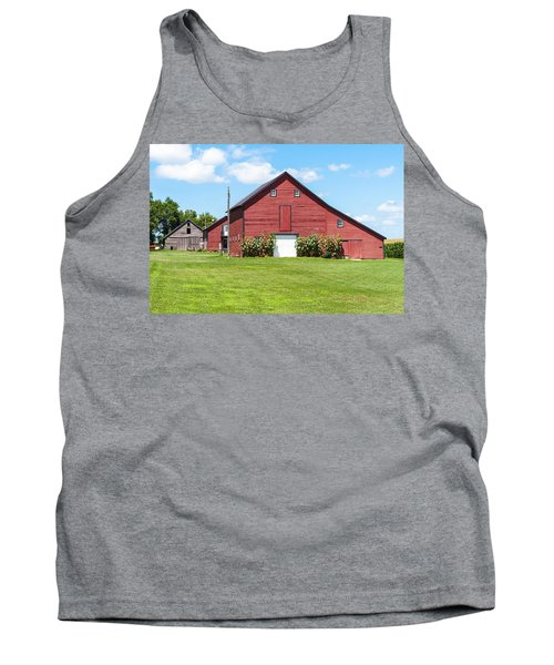 Sun Flower Barn Tank Top