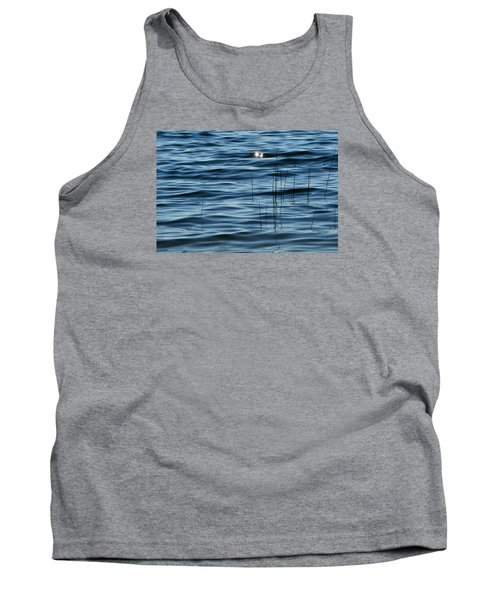 Tank Top featuring the photograph Sun Glints 2  by Lyle Crump