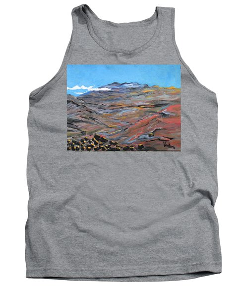 Sun Salutation At Haleakala Tank Top