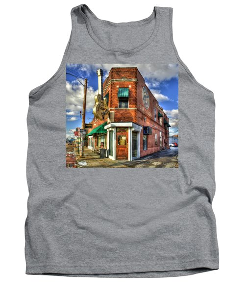Sun Studio Rock N Roll Birthing Place Memphis Tennessee Art Tank Top