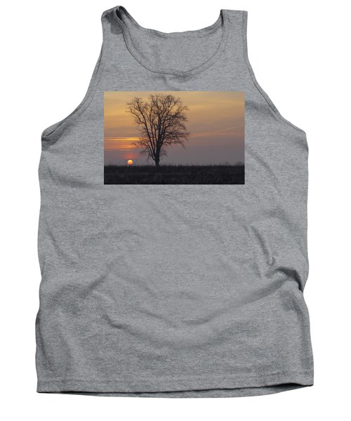 Sunday At Dawn Tank Top by Cesare Bargiggia
