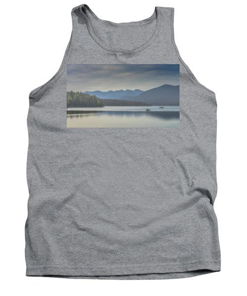 Tank Top featuring the photograph Sunday Morning Fishing by Chris Lord