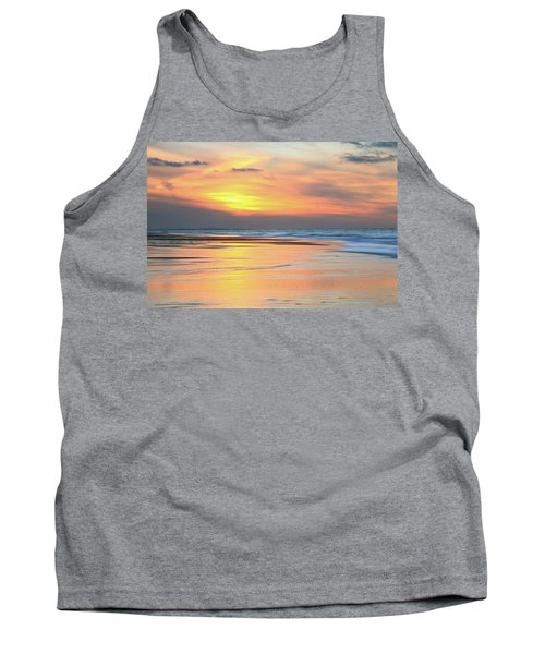 Tank Top featuring the photograph Sundown At Race Point Beach by Roupen  Baker