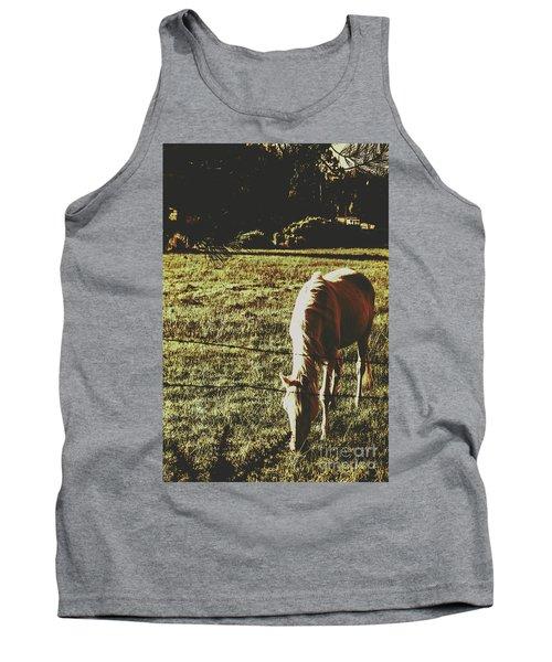 Sundown Horse Meadow Tank Top