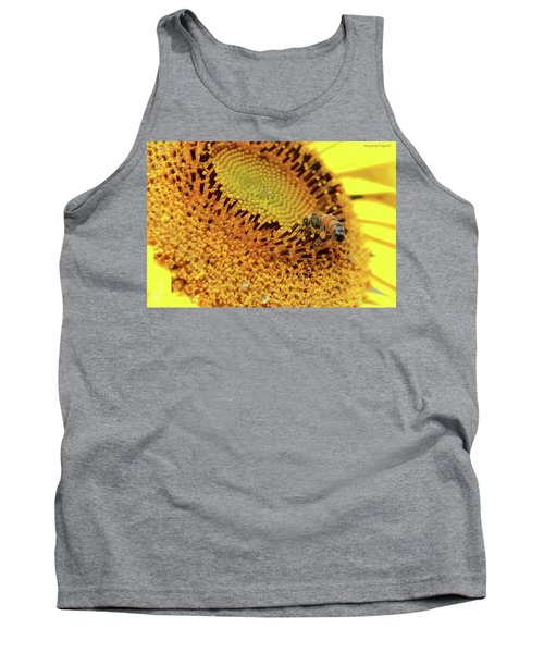 Sunflower 001 Tank Top by Kevin Chippindall