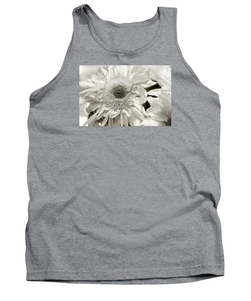 Sunflower 4 Tank Top by Simone Ochrym