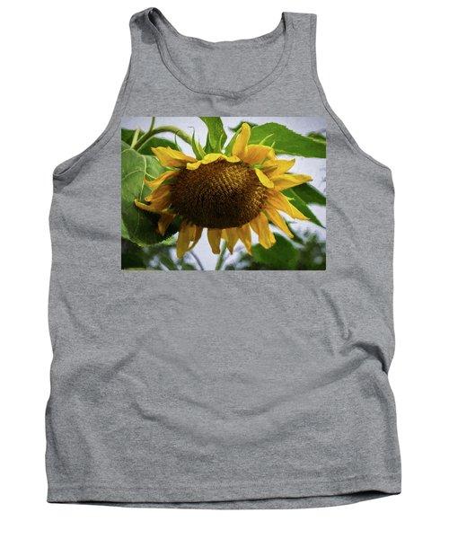 Sunflower Art II Tank Top
