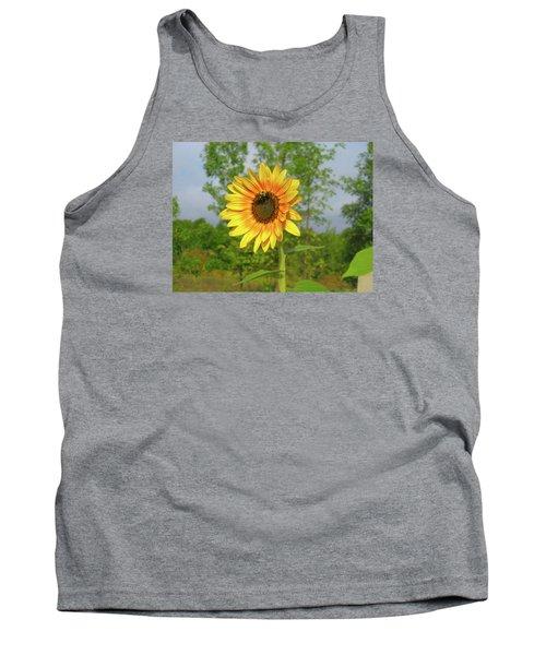 Ah, Sunflower Tank Top by Deborah Dendler