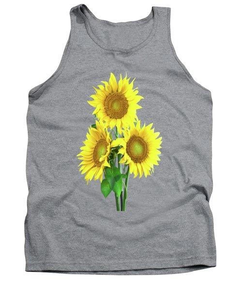 Sunflower Dreaming Tank Top