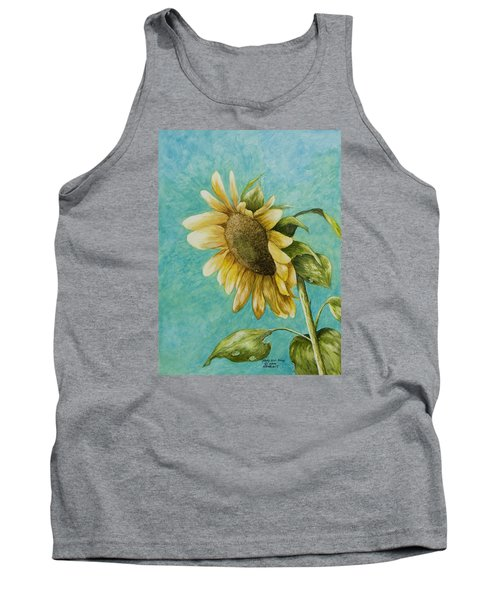 Sunflower Number One Tank Top