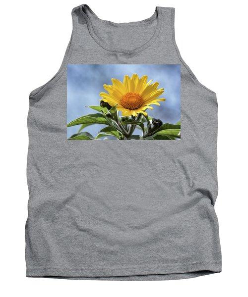 Tank Top featuring the photograph Sunflower  by Saija Lehtonen