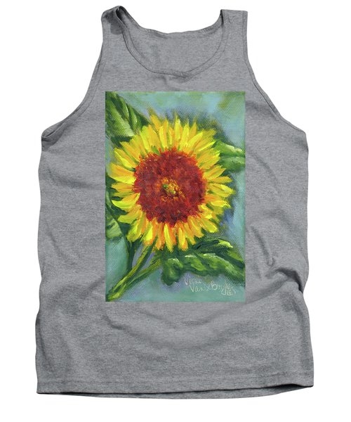 Sunflower Seed Packet Tank Top