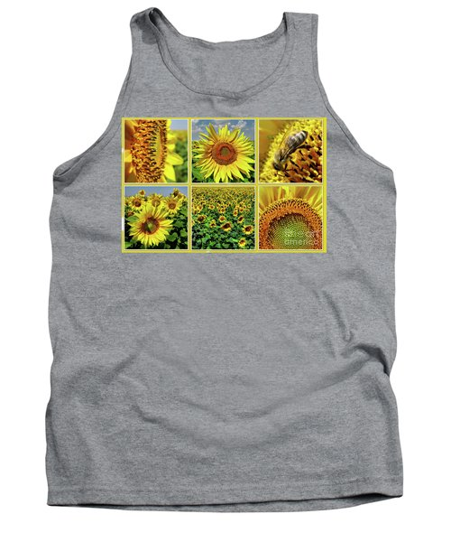 Sunflower Story - Collage Tank Top