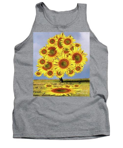 Sunflower Tree Tank Top