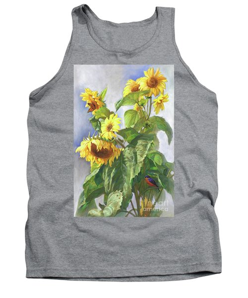 Sunflowers After The Rain Tank Top