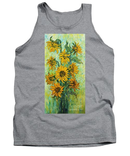 Sunflowers For This Summer Tank Top