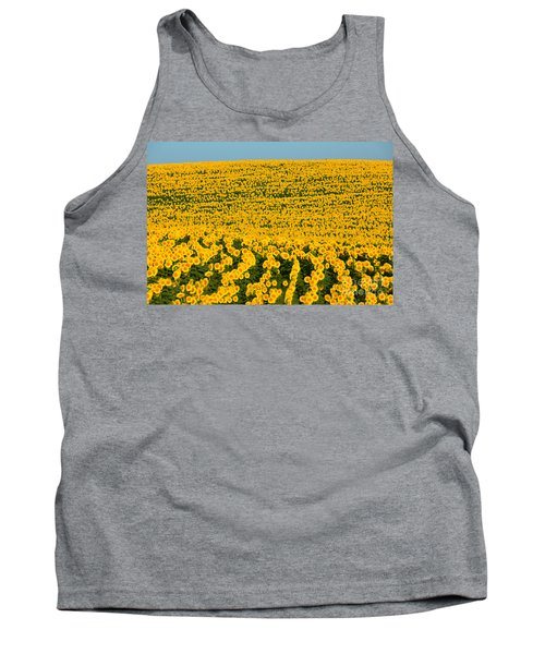 Sunflowers Galore Tank Top by Catherine Sherman
