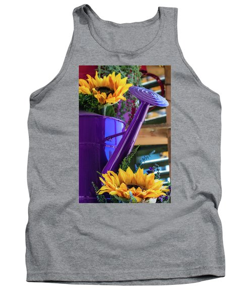 Complementary Sunflowers Tank Top
