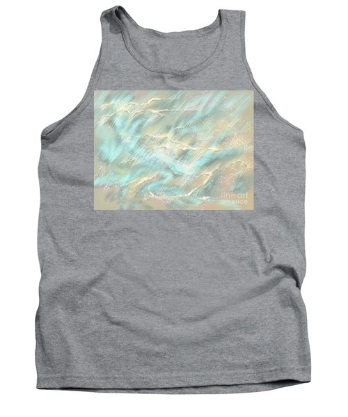 Tank Top featuring the digital art Sunlight On Water by Amyla Silverflame