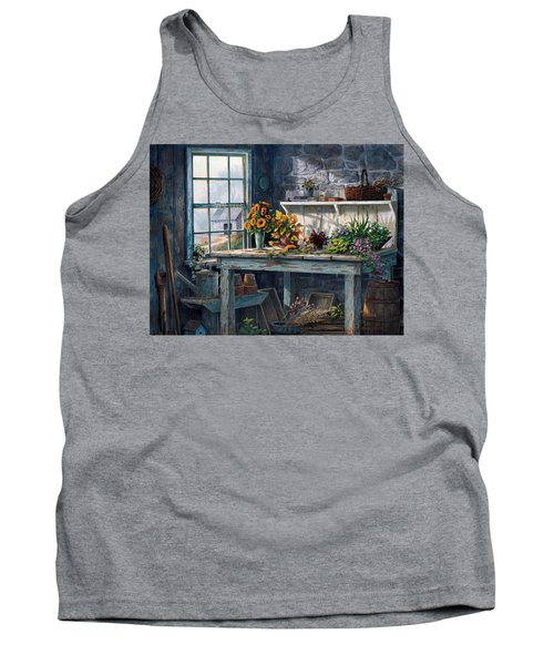 Sunlight Suite Tank Top by Michael Humphries