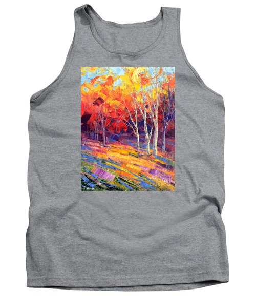 Sunlit Shadows Tank Top