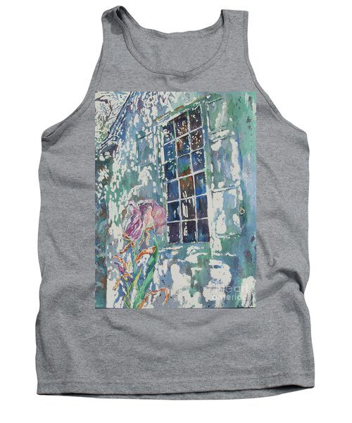 Tank Top featuring the painting Sunny Day At Brandywine by Mary Haley-Rocks