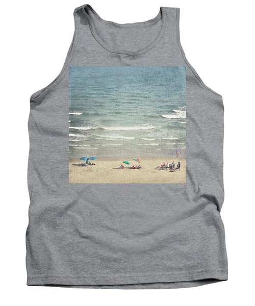 Sunny Day At North Myrtle Beach Tank Top