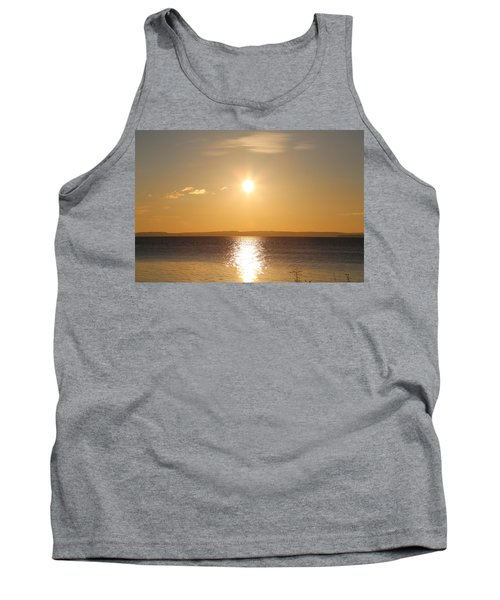 Sunny Day By The Oslo Fjords.  Tank Top