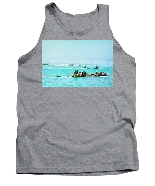 Sunny Pacific Ocean Oregon Coast Tank Top