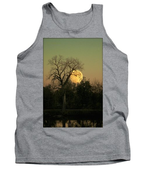 Tank Top featuring the photograph November Supermoon  by Chris Berry