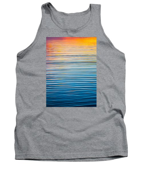 Sunrise Abstract  Tank Top