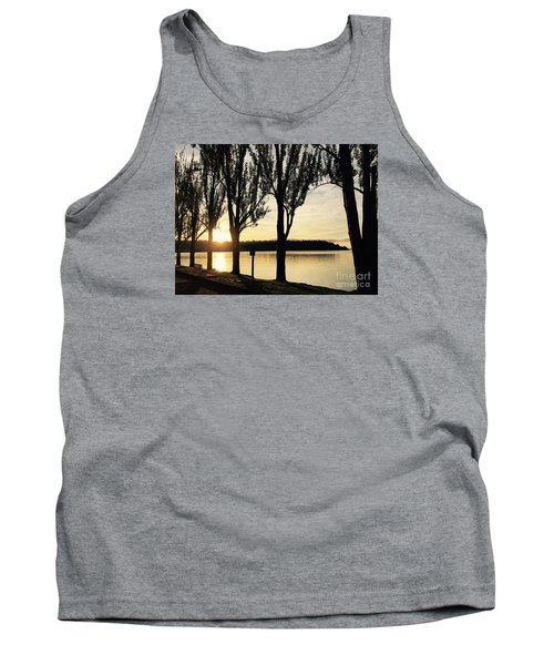 Sunrise And Silhouettes  Tank Top