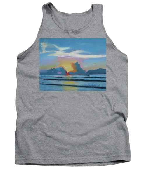 Sunrise At Cape Canaveral Beach Tank Top
